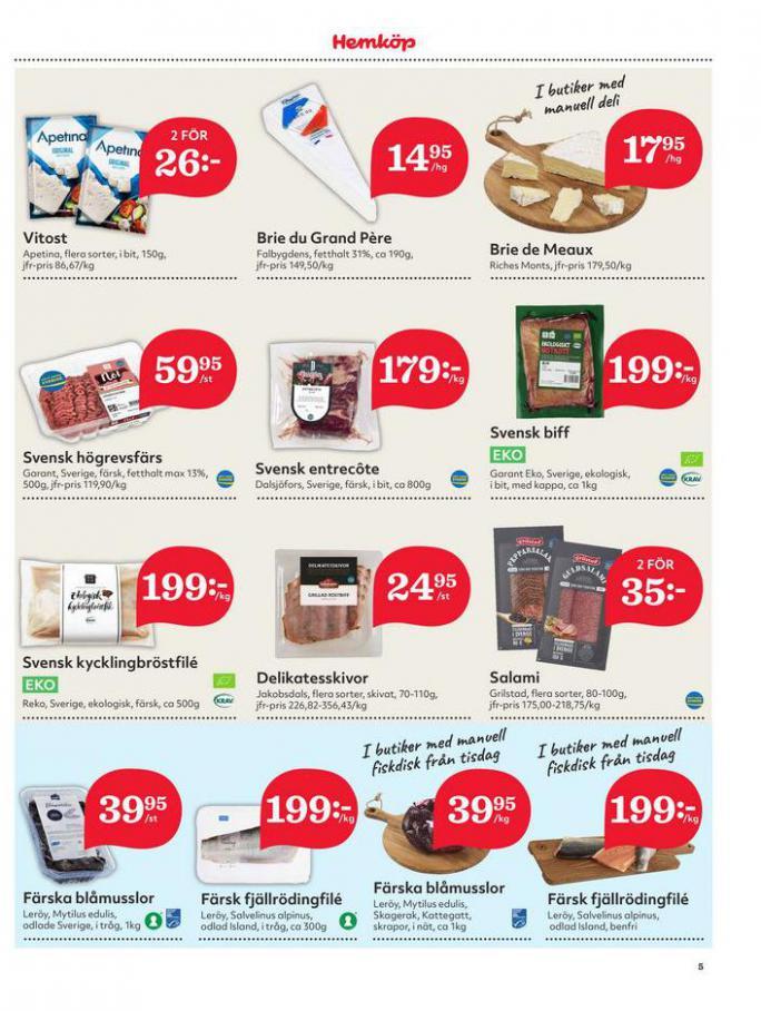 Hemköp Erbjudanden. Page 5