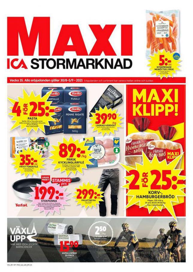 ICA Maxi Erbjudanden. ICA Maxi (2021-09-05-2021-09-05)