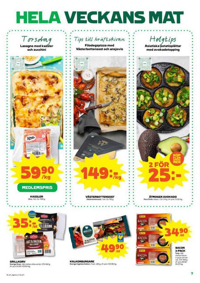 Coop Forum reklamblad. Page 7