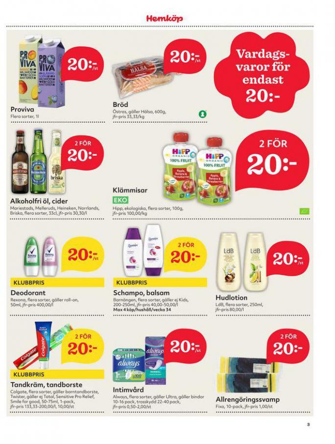 Hemköp Erbjudanden. Page 3