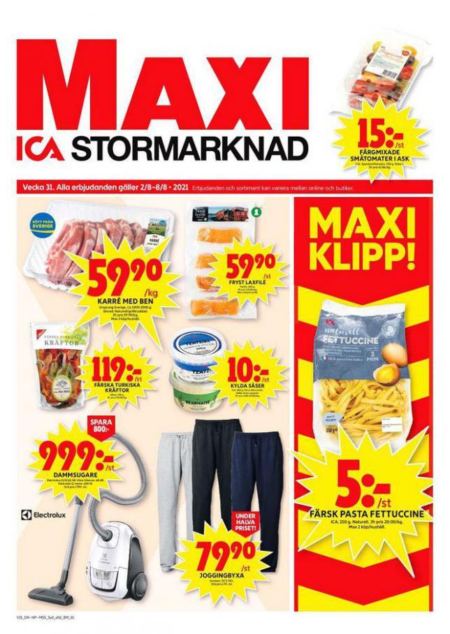 ICA Maxi Erbjudanden. ICA Maxi (2021-08-08-2021-08-08)