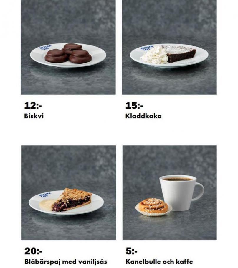 Biltema Café. Page 6