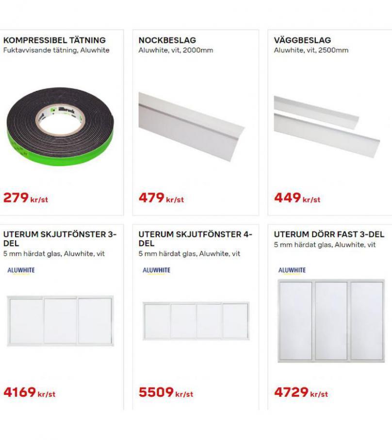 Byggmax Erbjudande Uterum & Skjutdörrar. Page 14