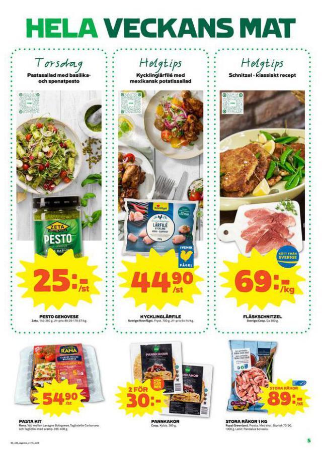 Coop Forum reklamblad. Page 5