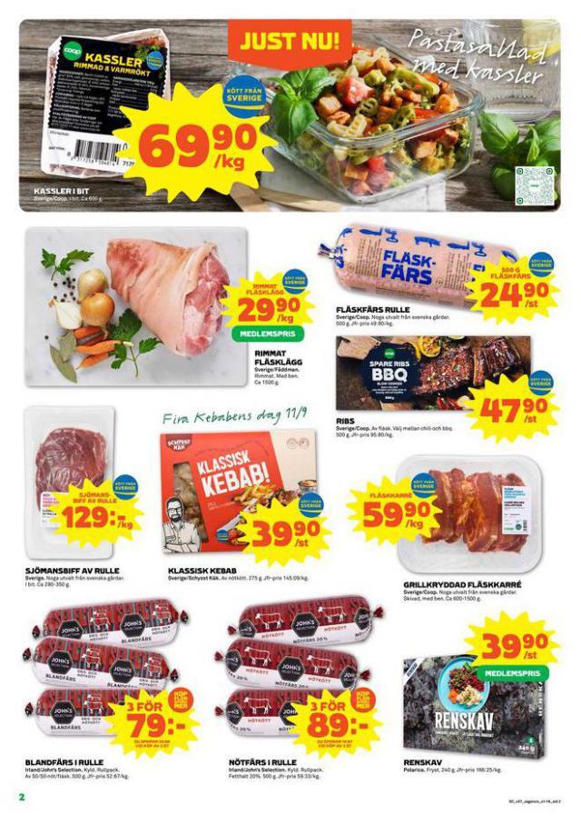 Coop Forum reklamblad. Page 2