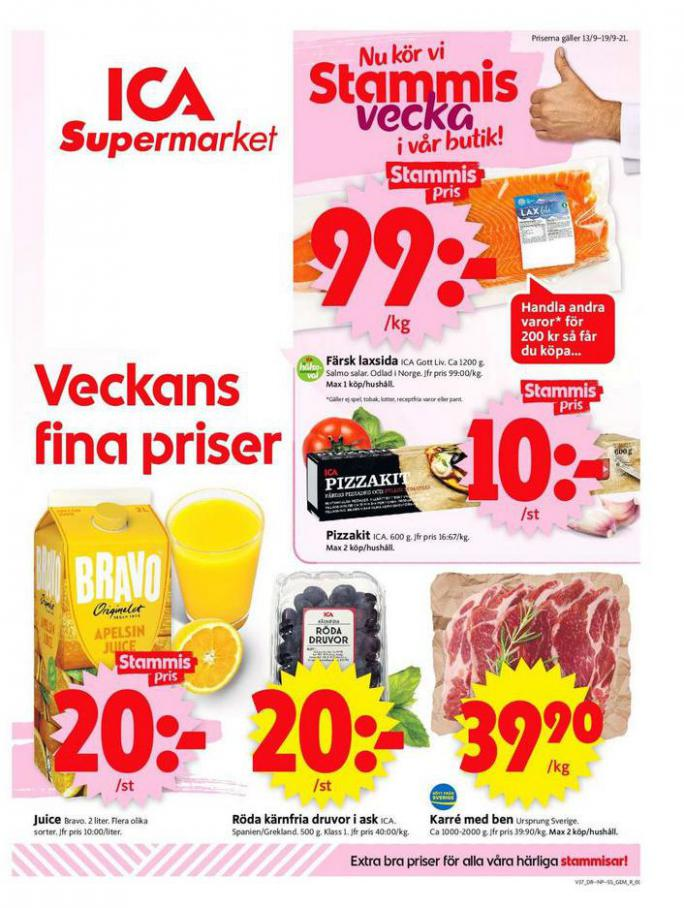 ICA Supermarket Erbjudanden. Page 1