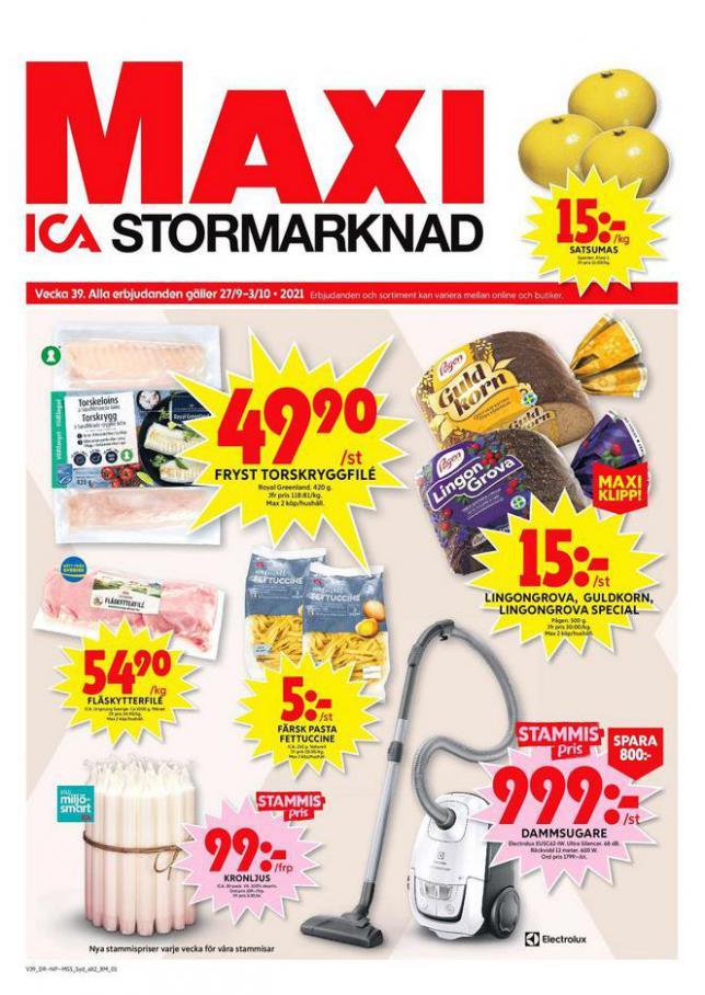 ICA Maxi Erbjudanden. ICA Maxi (2021-10-03-2021-10-03)