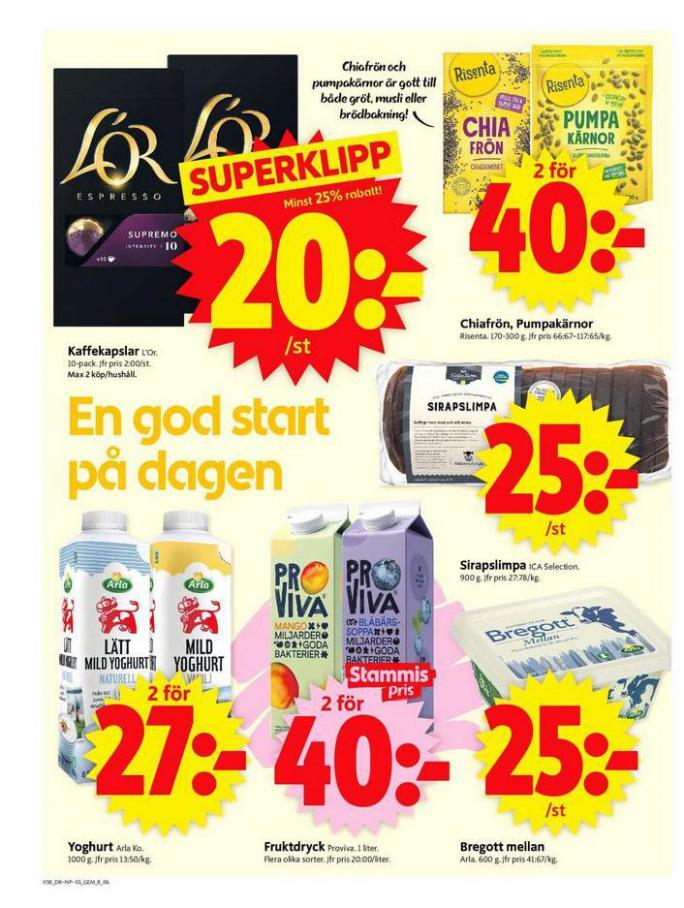 ICA Supermarket Erbjudanden. Page 6