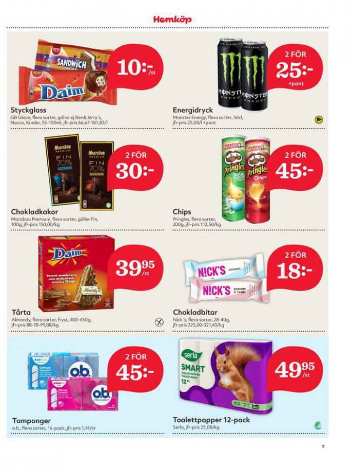 Hemköp Erbjudanden. Page 7