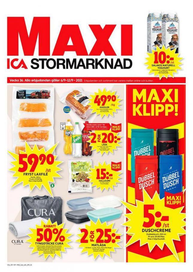 ICA Maxi Erbjudanden. ICA Maxi (2021-09-12-2021-09-12)