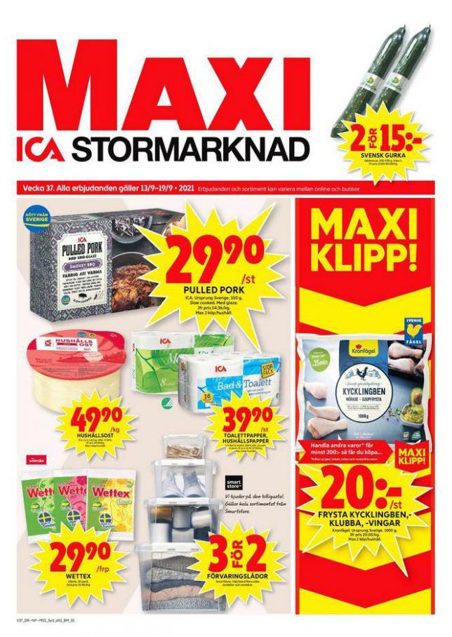 ICA Maxi Erbjudanden. ICA Maxi (2021-09-19-2021-09-19)