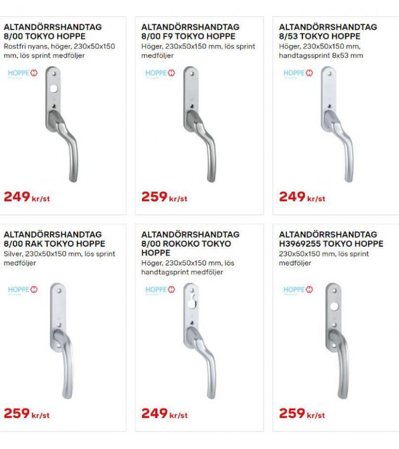 Byggmax Erbjudande Uterum & Skjutdörrar. Page 11