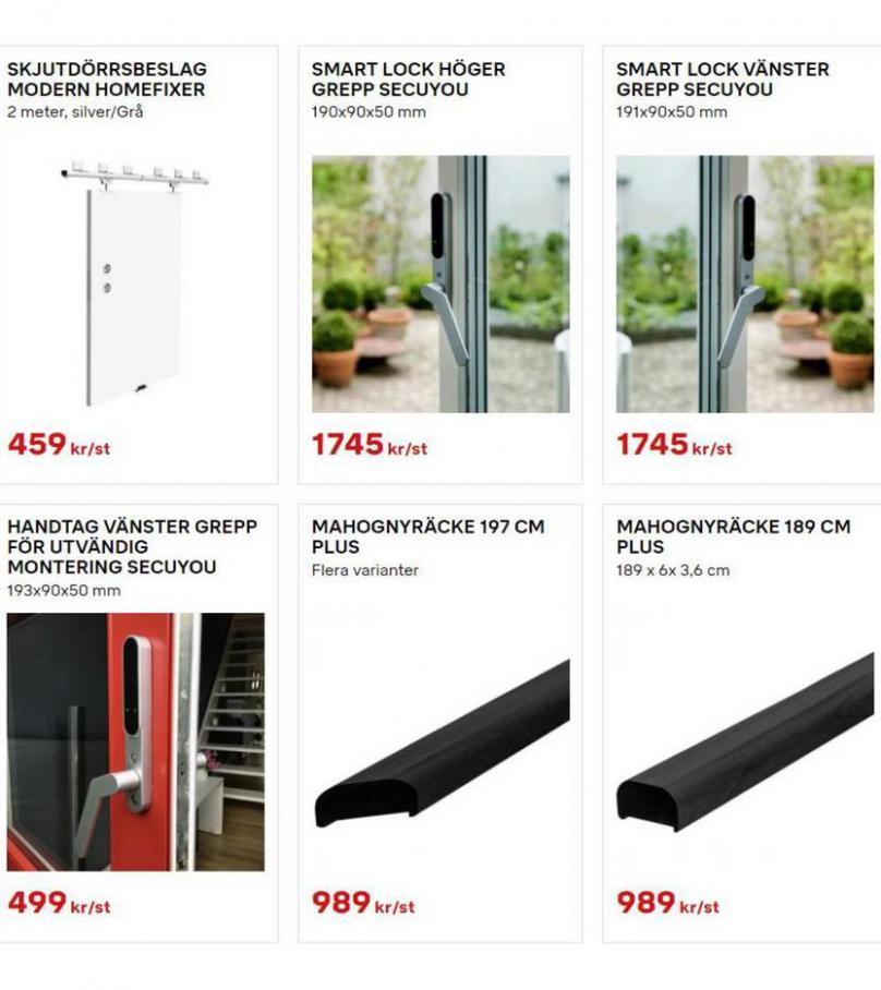 Byggmax Erbjudande Uterum & Skjutdörrar. Page 9