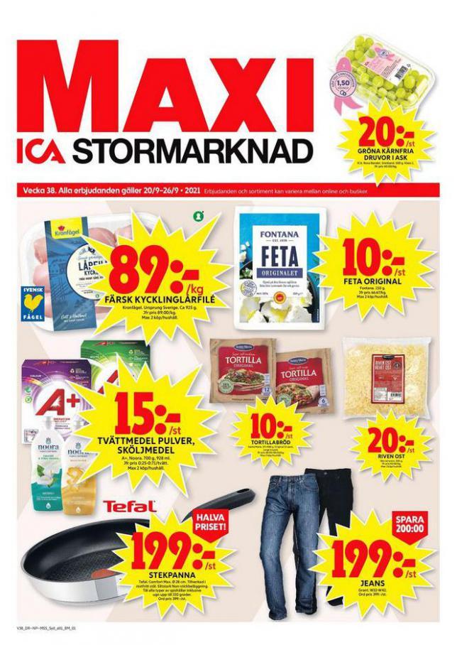 ICA Maxi Erbjudanden. ICA Maxi (2021-09-26-2021-09-26)