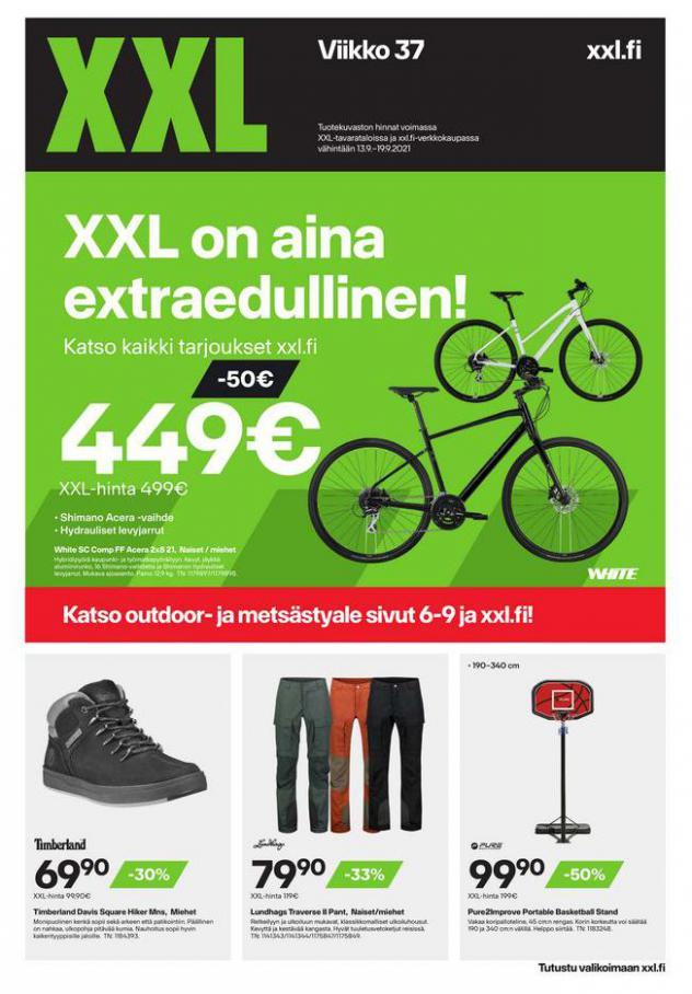 XXL Erbjudande XXL on aina extraedullinen!. XXL (2021-09-19-2021-09-19)