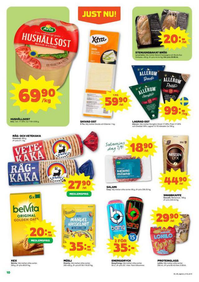Coop Forum reklamblad. Page 10