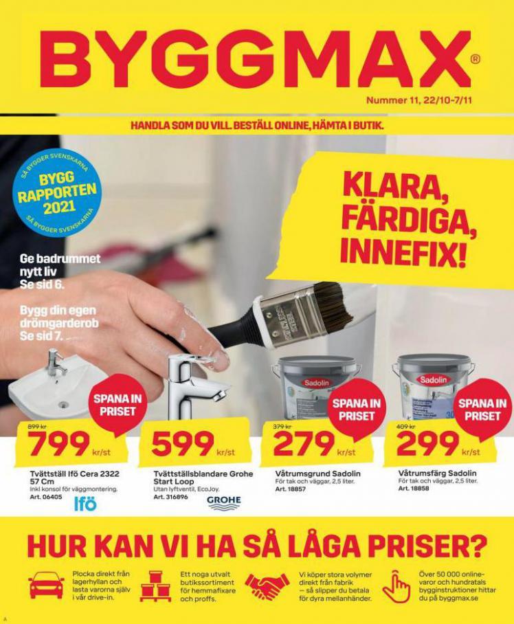 Byggmax Erbjudande Number 11. Byggmax (2021-11-07-2021-11-07)