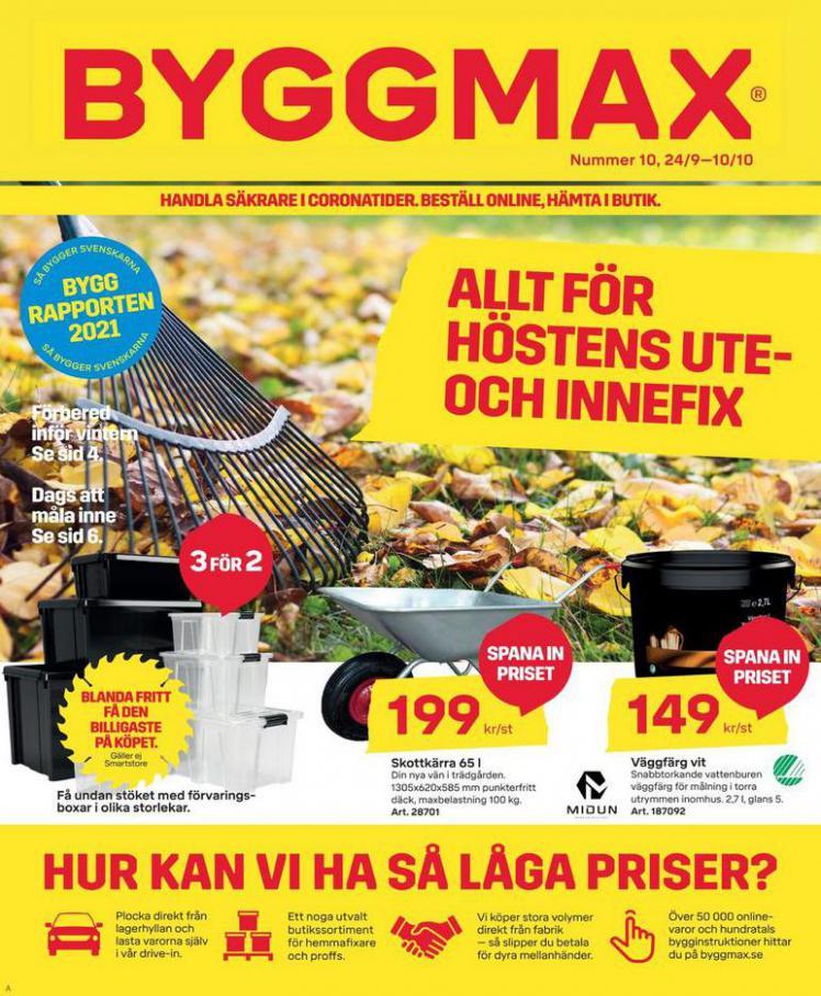 Byggmax Erbjudande Number 10. Byggmax (2021-10-10-2021-10-10)