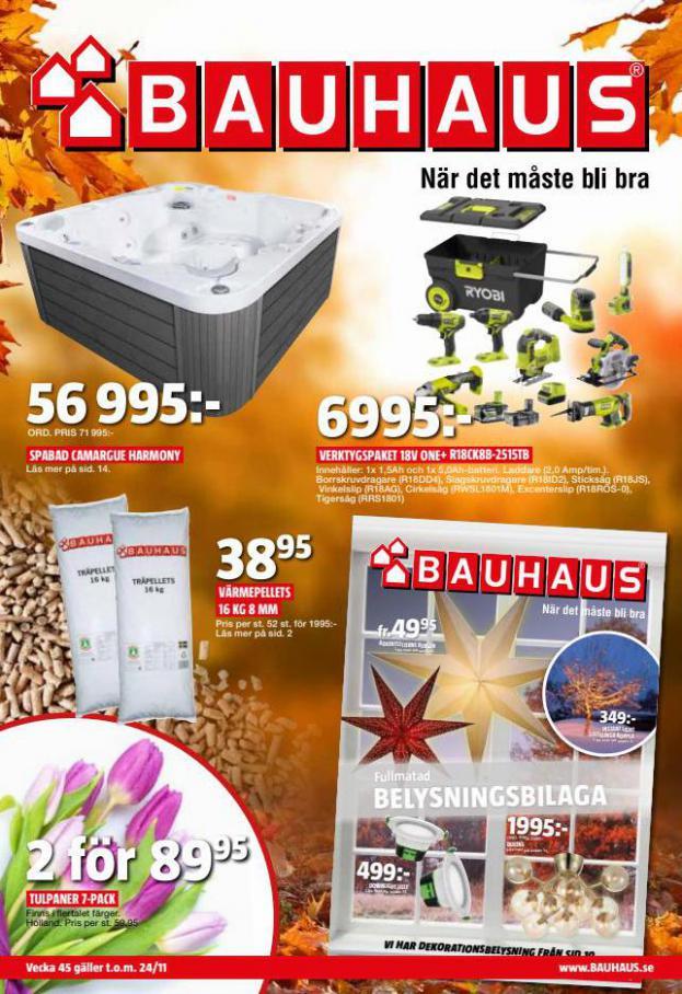 Bauhaus Erbjudande Aktuella Kampanjer. Bauhaus (2021-11-24-2021-11-24)