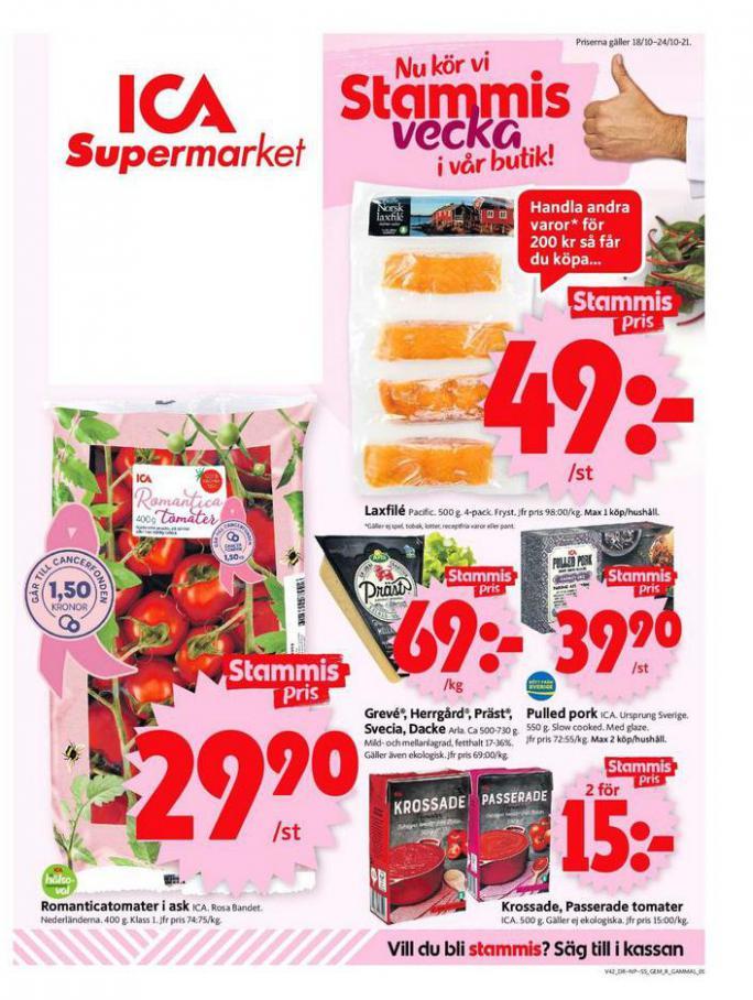ICA Supermarket Erbjudanden. ICA Supermarket (2021-10-24-2021-10-24)