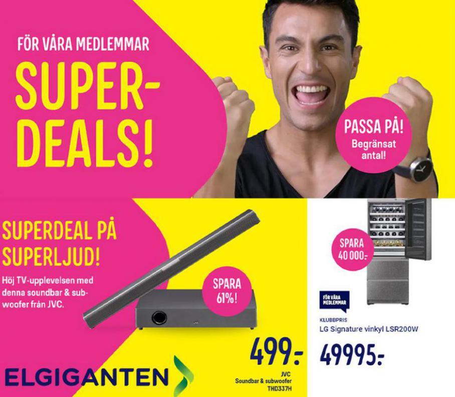 Super Deals. Elgiganten (2021-10-17-2021-10-17)